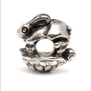 Trollbeads The Hare and the Tortoise Bead